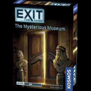 Stalo žaidimas - Mysterious museum