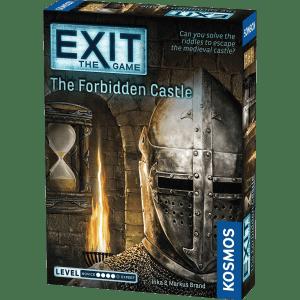 Lockedin Pabėgimo kambariai - Stalo žaidimai - Žaidimas The Forbidden Castle
