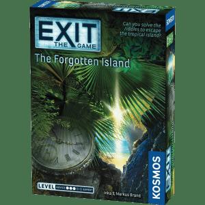 Lockedin Pabėgimo kambariai - Stalo žaidimai - Žaidimas The Forgotten Island