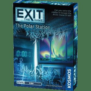 Lockedin Pabėgimo kambariai - Stalo žaidimai - Žaidimas The Polar Station